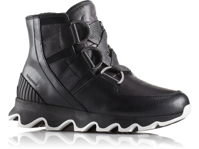 Sorel W's Kinetic Short Lace Shoes Black/White